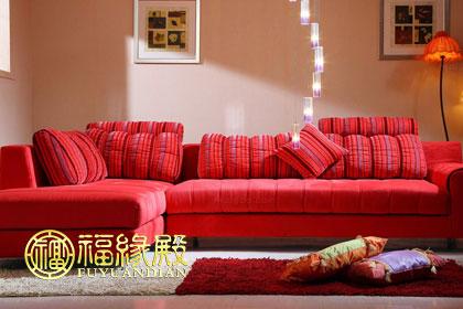 客厅沙发颜色风水