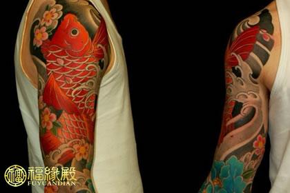 鲤鱼纹身的忌讳和讲究,你知道多少?