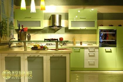 欧式厨房灶台门效果图片