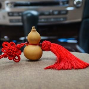 手工制作桃木天然葫芦挂件 小 摆件