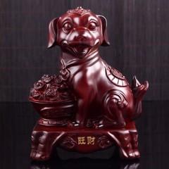 """生肖狗""""旺财""""风水摆件 狗"""