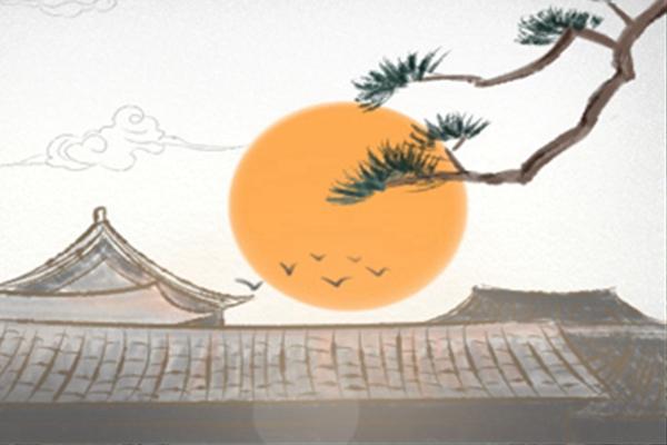 壁纸 风景 国画 旅游 瀑布 山水 桌面 600_400