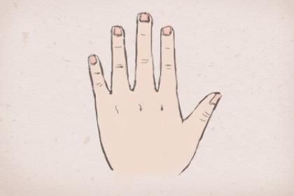 男孩左手无名指有痣_左手无名指长痣图解法 有吉有凶-福缘殿