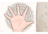 手心大三角图片 有什么影响