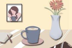 卧室里挂什么画好 山水画人像画