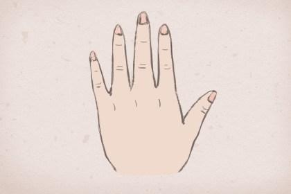 男孩左手无名指有痣_右手无名指有痣的女孩 具体分指节-福缘殿