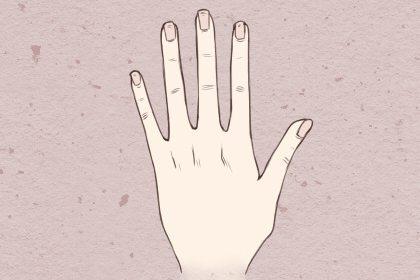 命运线手掌有叉啥意思