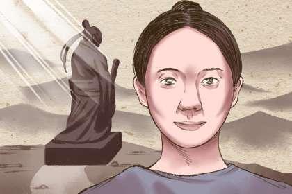 女人右手坎宫有三角纹