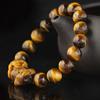 黄虎眼石貔貅手链