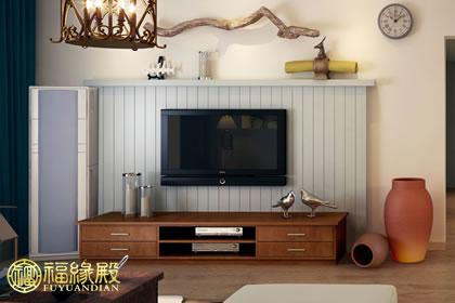 客厅电视背景墙风水详解